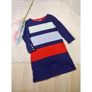 Anthro Allihop Color Block Dress
